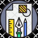Art And Design Vector Graphic Graphic Icon
