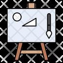 Art Board Brush Icon