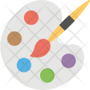 Color Pallet Painting Icon