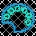 Color Dish Dish Drawing Dish Icon