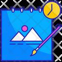 Progress Art Design Icon