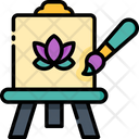 Art Therapy Art Coloring Icon
