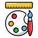 Graphic Designing Graphic Tools Art Tools Icon