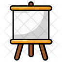 Artboard Painting Board Easel Icon