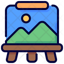 Artboard Paint Creation Icon
