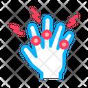 Arthritis Finger Joints Icon