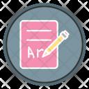 Artialevrewrither Write Note Icon