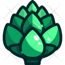 Artichoke Vegetable Organic Icon