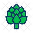 Artichoke Diet Food Icon