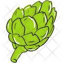 Vegetable Food Artichoke Icon