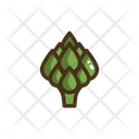 Artichoke Vegetable Vegetables Icon