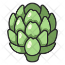 Healthy Artichoke Vegetable Icon