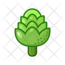 Artichoke Vegetables Vegetarian Icon