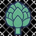 Artichoke Healthy Food Icon