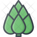 Artichoke Flower Food Icon