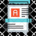 Article Blog Communication Icon