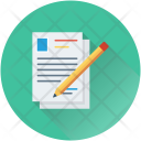 Article Writing Pencil Icon