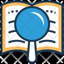 Find Lesson Book Icon