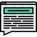 Article Comment Post Icon