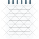 Article Paper Jotter Icon