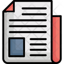 Article Journal Newspaper Icon