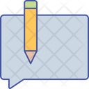 Article Pencil Blog Icon