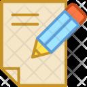 Article Paper Pen Icon