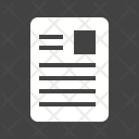 Article Blog News Icon