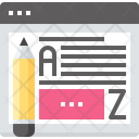 Article Blog Communication Icon