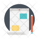 Content Marketing Advertising Icon