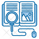 Search Knowledge Learn Icon