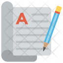 Article Writing Creative Icon