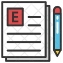 Article Writing Web Icon