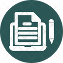 Article Writing Icon