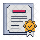 Articles Of Incorporation Articles Certificate Icon
