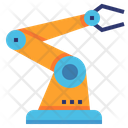 Articulated Robot Arm Icon