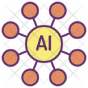 Artifical Intelligence Data Icon