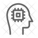 Artificial Intelligence Mind Icon