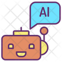 Artificial Bot Icon