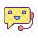 Ichat Bot Artificial Bot Chat With Human Ai Bot Icon