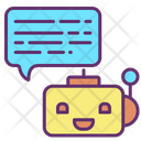 Ibot Artificial Bot Chat With Human Ai Bot Icon