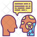Ibot Chat Human Artificial Bot Chat With Human Ai Bot Icon