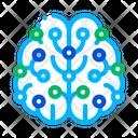 Artificial Intelligence Brain Icon