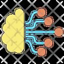 Ibrain Flow Artificial Brain Machine Brain Icon