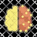 Ibrain And Machine Artificial Brain Machine Brain Icon