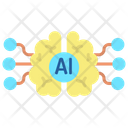 Artificial Brain Icon
