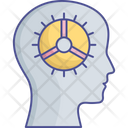 Artificial Brain Artificial Decisioning Artificial Intelligence Icon