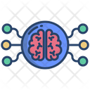 Artificial Brain Brain Network Ai Brain Icon