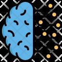 Brain Ai Artificial Icon