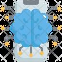 Artificial Brain Smart Brain Artificial Mind Icon